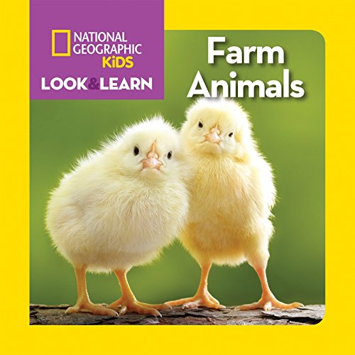9781426323072: National Geographic Kids Look and Learn: Farm Animals (Look & Learn)