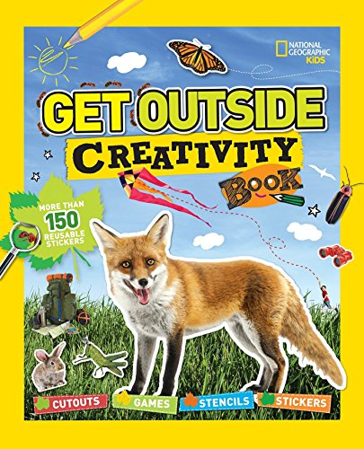 9781426323263: Get Outside Creativity Book: Cutouts, Games, Stencils, Stickers (National Geographic Kids)