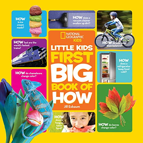 9781426323294: National Geographic Little Kids First Big Book of How (National Geographic Little Kids First Big Books)