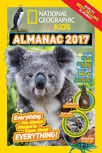 9781426324178: National Geographic Kids Almanac 2017: Everything You Always Wanted to Know about Everything!