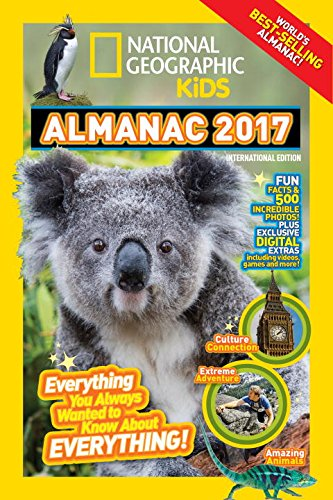 9781426324208: National Geographic Kids Almanac 2017. Internation