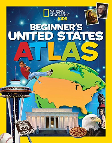 9781426324345: National Geographic Kids Beginner's United States Atlas
