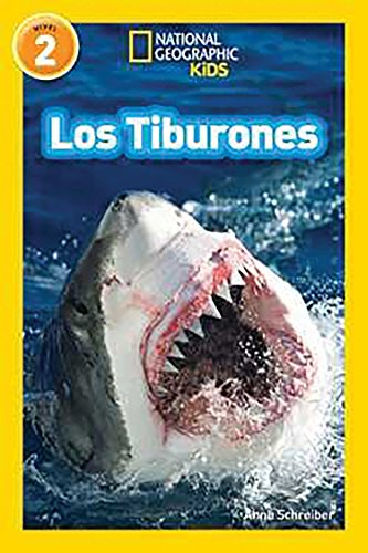 National Geographic Readers: Los Tiburones (Sharks) (Paperback): Anne Schreiber
