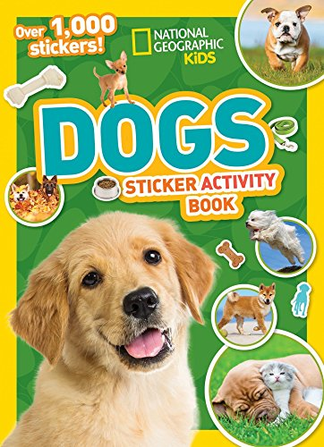 9781426328015: National Geographic Kids Dogs Sticker Activity Book