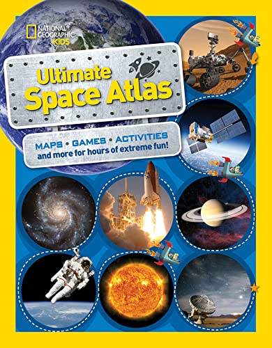 National Geographic Kids Ultimate Space Atlas (Paperback)