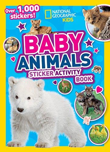 9781426330209: National Geographic Kids Baby Animals Sticker Activity Book