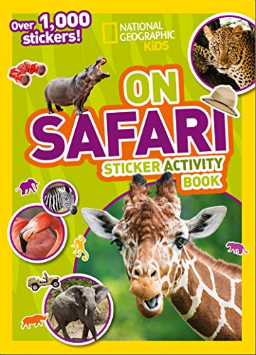 9781426334245: On Safari Sticker Activity Book: Over 1,000 stickers! (NG Sticker Activity Books)