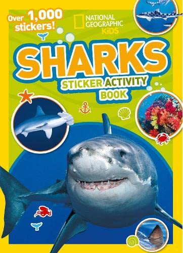 9781426334252: Sharks Sticker Activity Book: Over 1,000 Stickers! (NG Sticker Activity Books)
