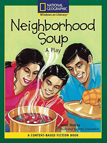 Content-Based Readers Fiction Fluent (Math): Neighborhood Soup: National Geographic Learning