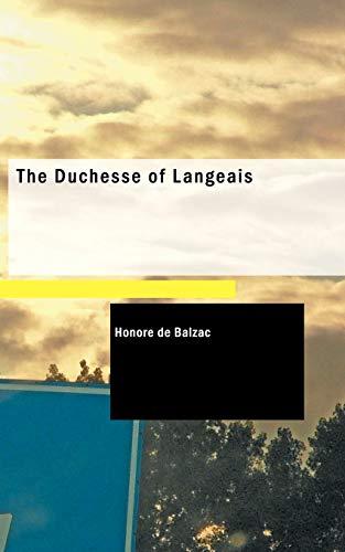 9781426407604: The Duchesse of Langeais