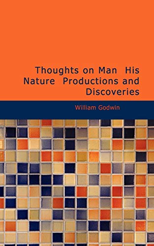 9781426410666: Thoughts on Man His Nature Productions and Discoveries