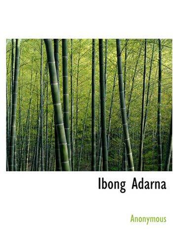 Ibong Adarna (Paperback): Anonymous
