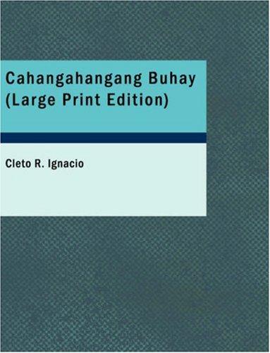 9781426424823: Cahangahangang Buhay (Tagalog Edition)