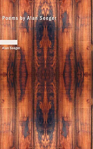 9781426442629: Poems by Alan Seeger