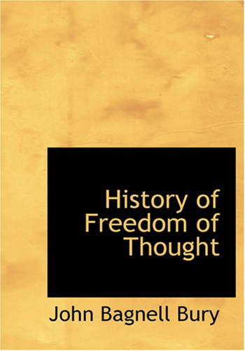 9781426443466: History of Freedom of Thought