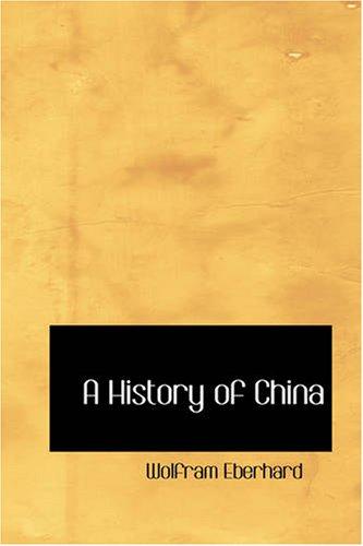 9781426448539: A History of China