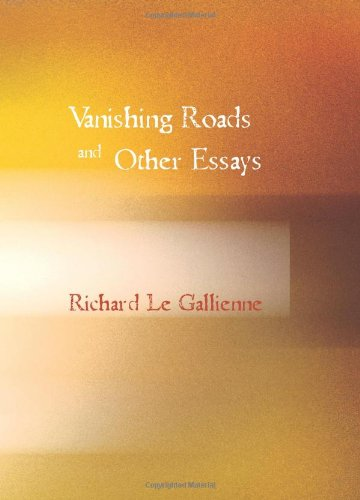 9781426455711: Vanishing Roads and Other Essays