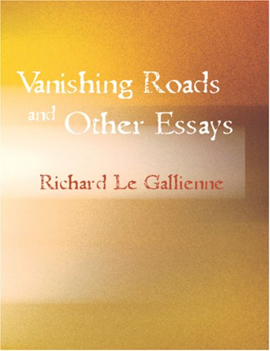 9781426456190: Vanishing Roads and Other Essays