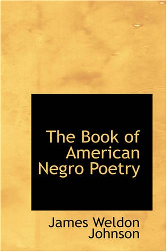9781426457555: The Book of American Negro Poetry