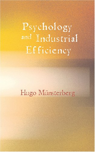 9781426484551: Psychology and Industrial Efficiency