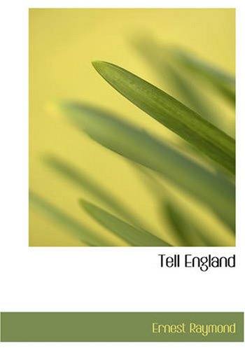 9781426484902: Tell England: A Study in a Generation