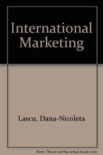 International Marketing: Dana-Nicoleta Lascu