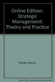 strategic management practice and theory of Strategic management theory  • common practice shows that corporate identity and strategy  strategic planning is not to create a strategy but to programme.