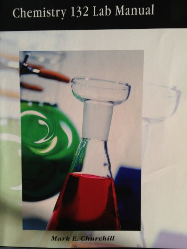 9781426630705: Chemistry 132 Lab Manual