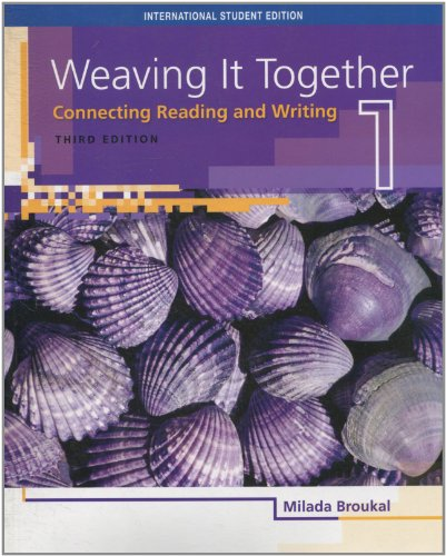 9781426633508: ISE Weaving it Together 1