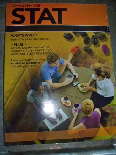 STAT with Online Interactive Problems, Flash Cards,: Johnson/Kuby
