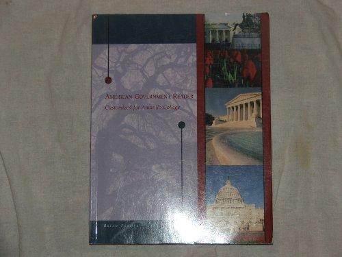 9781426636370: American Government Reader-Customized for Amarillo College