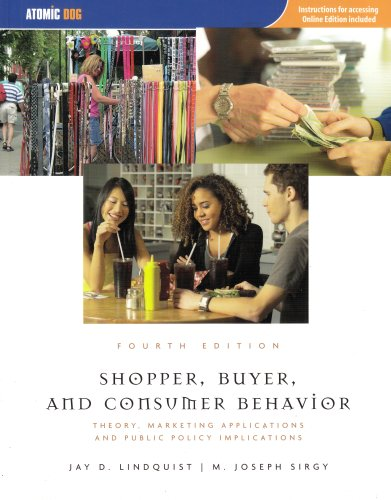 9781426637018: Shopper, Buyer, and Consumer Behavior: Theory, Marketing Applications and Public Policy