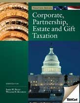 9781426639166: Corporate, Partnership, Estate, and Gift Tax with H&R BLOCK At Home Tax Preparation Software