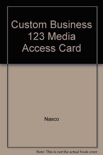 9781426642050: Custom Business 123 Media Access Card