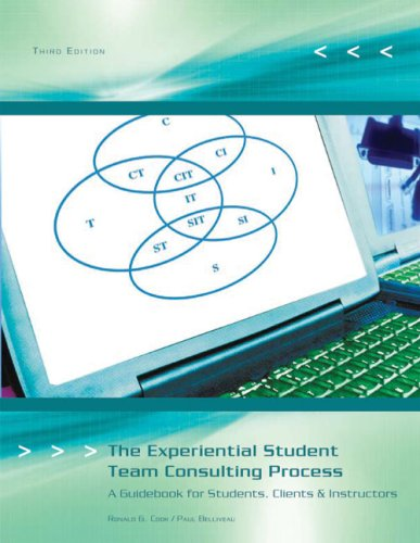 9781426644658: The Experiential Student Team Consulting Process: A Guidebook for Students, Clients, & Instructors