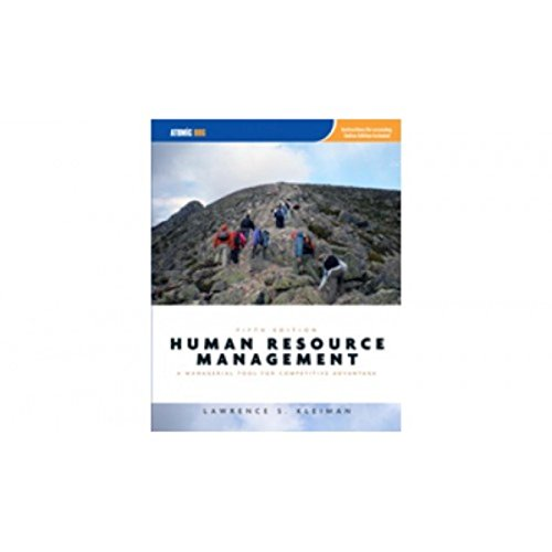 9781426648137: Human Resource Management: A Managerial Tool for Competitive Advantage