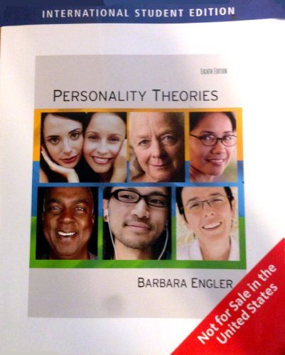 9781426648656: Personality Theories Eighth Edition (International Student Edition)