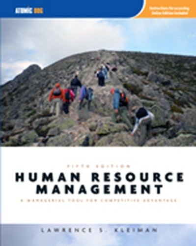 9781426649189: Human Resource Management: Managerial Tool for Competitive Advantage