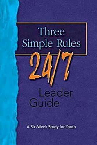9781426700347: Three Simple Rules 24/7