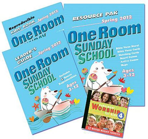 9781426706042: One Room Sunday School Kit Spring 2012