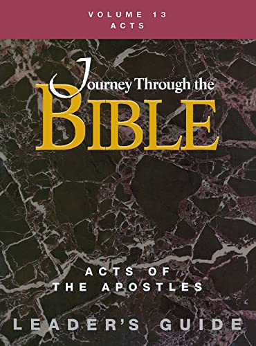 Journey Through the Bible Volume 13 | Acts of the Apostles Leader's Guide (9781426710292) by Justo Gonzalez