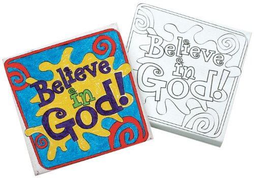 9781426712852: Vacation Bible School 2011 Shake It Up Cafe Canvas Art Craft Craft (Package of 12) VBS: Where Kid's Carry Out God's Recipe