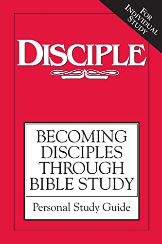 9781426714245: Disciple Bible Study Personal Study Guide