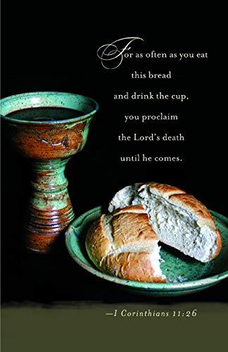Knowing Christ Communion Bulletin (Pkg of 50)