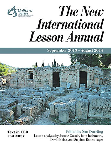 9781426739453: The New International Lesson Annual 2013-2014: September 2013 - August 2014
