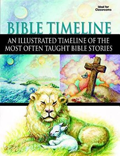 9781426744426: Bible Timeline: An Illustrated Timeline of the Most Often Taught Bible Stories
