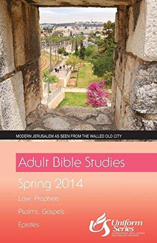 Adult Bible Studies Regular Print Student - Spring 2014 Quarter: Various