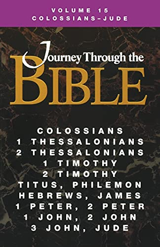9781426761904: Journey Through the Bible Volume 15 | Colossians - Jude Student Book
