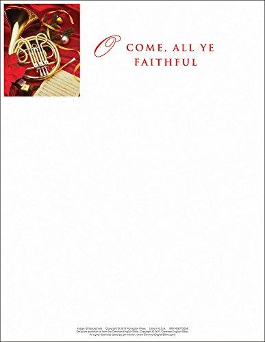 9781426772658: O Come/Christmas Music Letterhead 2013 (Pkg of 50)