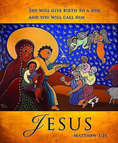 9781426772733: Jesus/Christmas Nativity Bulletin 2013, Large Size (Package of 50)